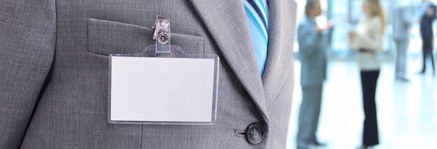 Badges personnalisés