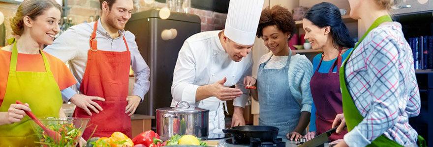 Cours de cuisine en compagnie d'un chef