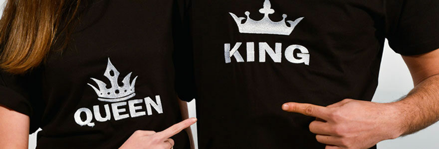 t-shirt personnalisés pas cher