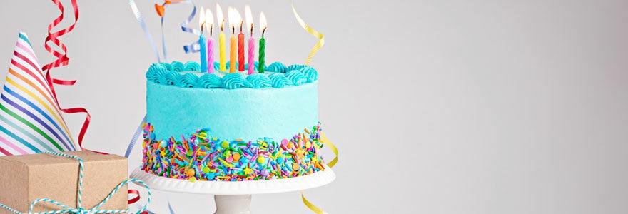 Trouver des décorations et accessoires pour un anniversaire