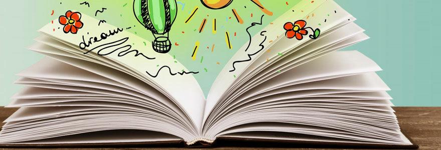un livre personnalisé